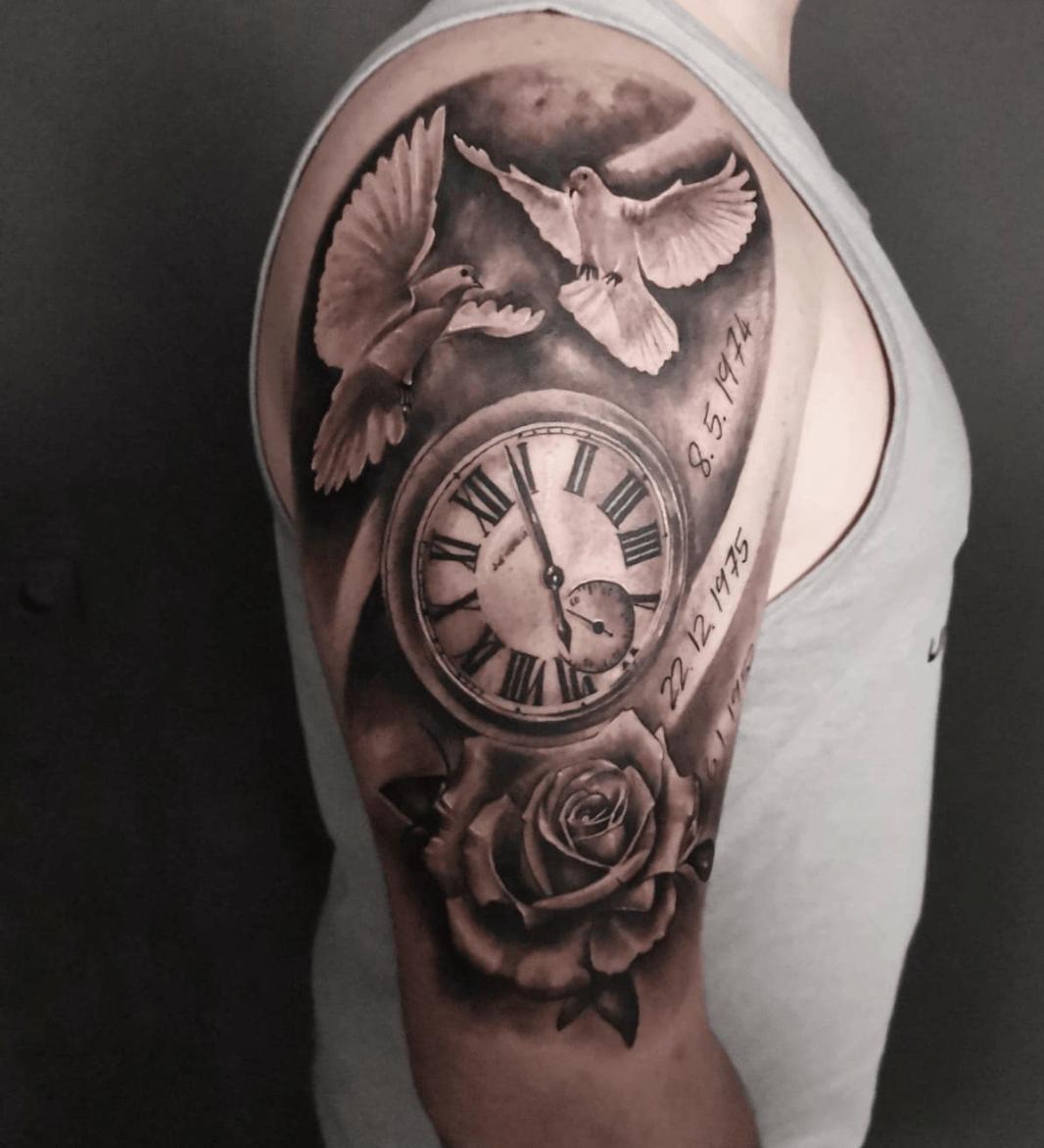 Cosmin Tattoo Work by RoyalPain Essen