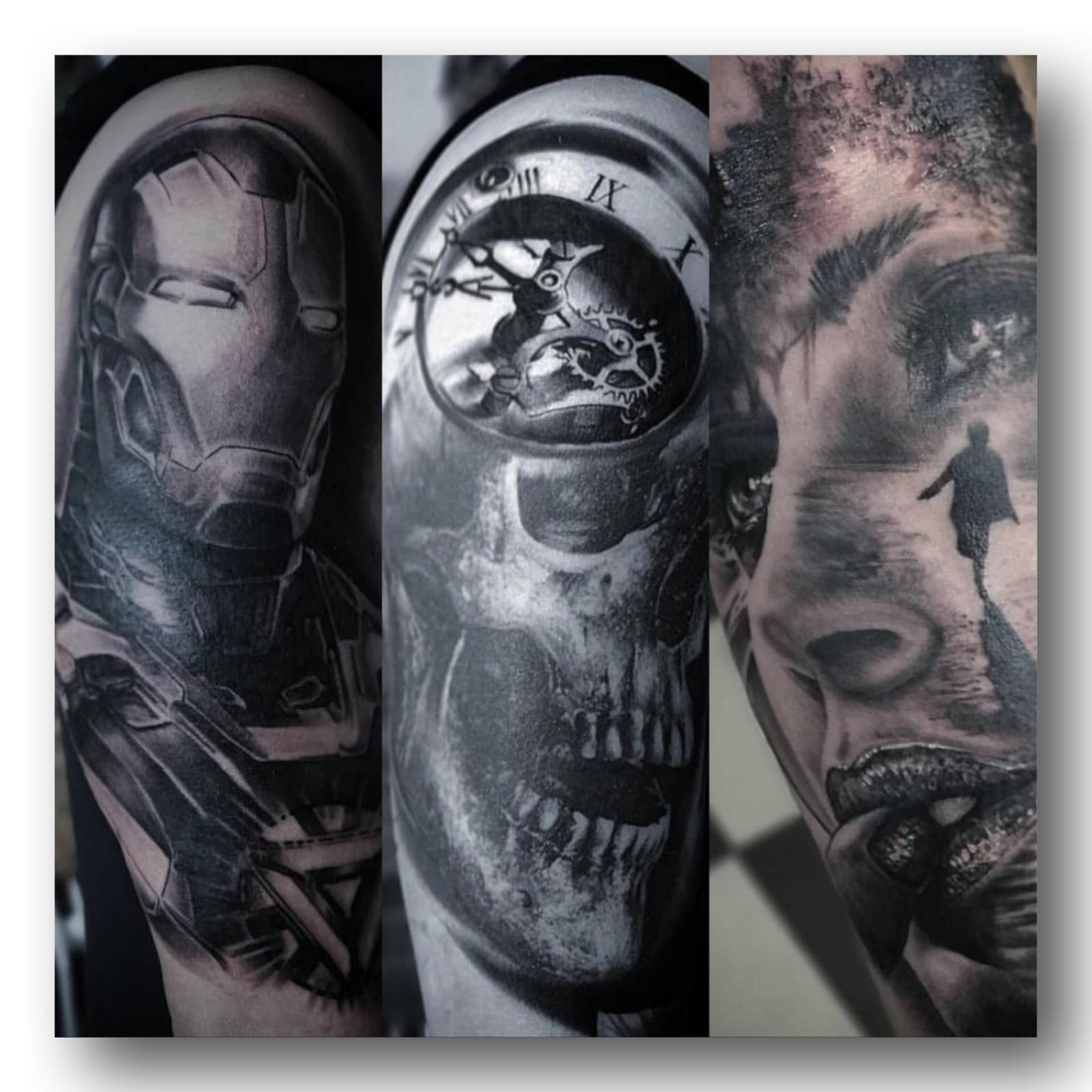Tattoo Kunst im Studio RoyalPain